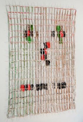 Lam de Wolf, Jezelf doen, mag dat?, object, 2009, textile and tie-ribs